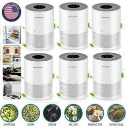 1-10 PACK Air Purifier HEPA Filter Air Cleaner Home Office R