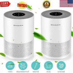 2 X Table True HEPA Filter Air Purifier Cleaner Remove Odor