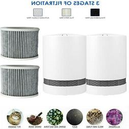 2pack home air purifier hepa filter air