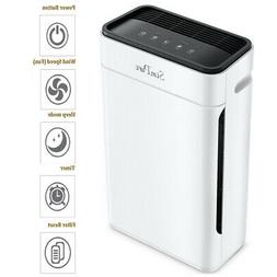 4-Stage HEPA Air Purifiers for Large Home Clean Allergies Pe