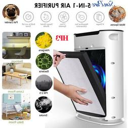 Large Room Air Cleaner Air Purifier with True HEPA,5Stage Fi