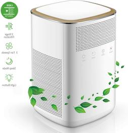 Air Purifier, 4 in 1 HEPA Mini Home Air Purifier with 2 True