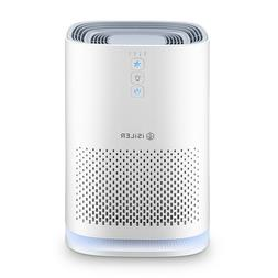 ISILER Air Purifier with True HEPA Filter, Portable Air Clea