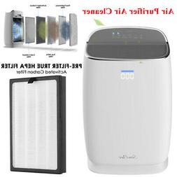Air Purifier Air Cleaner for Home w/ HEPA Filter Quiet Odor
