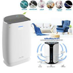 Air Purifier Cleaner True HEPA Filter Plug-in Cool Fan For H