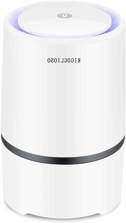 RIGOGLIOSO Air Purifier for Home with True HEPA Filters,Low