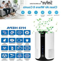 Air Purifier  HEPA Filter Oil Aromatherapy for Room Allergie