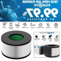 Air Purifier True HEPA Filter For HD3 Air Cleaner Allergens