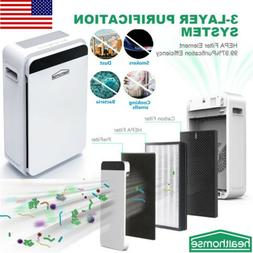 Air Purifier True HEPA Filter Home Rome Air Cleaner Filtrati