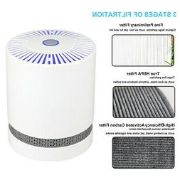 Air Purifier with True HEPA Filter Air Cleaner 2 Speed Fan W