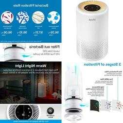 Levoit Air Purifiers For Home Allergies And Pets Hair, H13 T