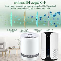 Home HEPA Air Purifiers Quiet Bedroom Air Purifier for Aller