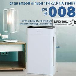 H13 HEPA Air Purifiers for Home Large Room Air Cleaner for A