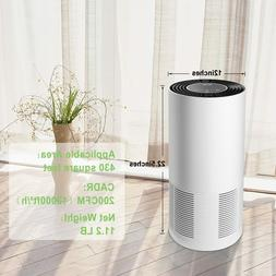 JETERY HEPA Filter Air Purifiers with Smart Auto-Off Timer,