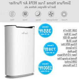 Home Air Purifiers True HEPA Air Purifier for Allergies Indo