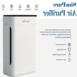 True HEPA Large Room Air Purifiers for Home Air Cleaner for