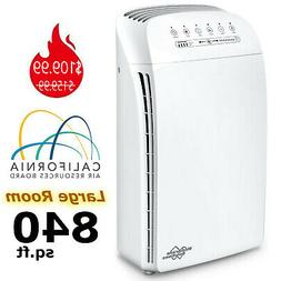 Home True HEPA Air Purifier Large Room Air Cleaner for Aller