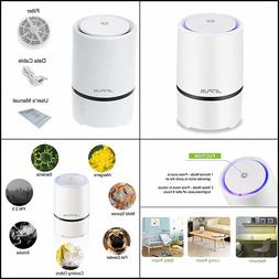 JINPUS Air Purifier Small Air Cleaner for Home with HEPA Fil