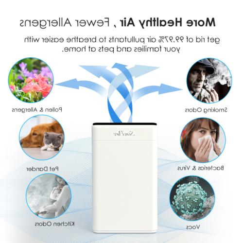 4-Stage for Allergies Pets Smoker Odors