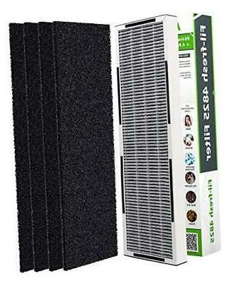 Air Filter Replacement AC4825E, 2-in-1