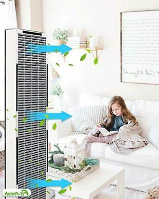 Air HEPA Replacement for GermGuardian AC4825E,