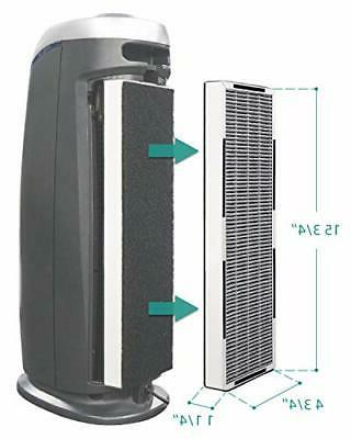 Air HEPA Replacement for AC4825E, 2-in-1