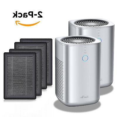Home Air Quiet Purifier for Allergies Dust Pet Smoker