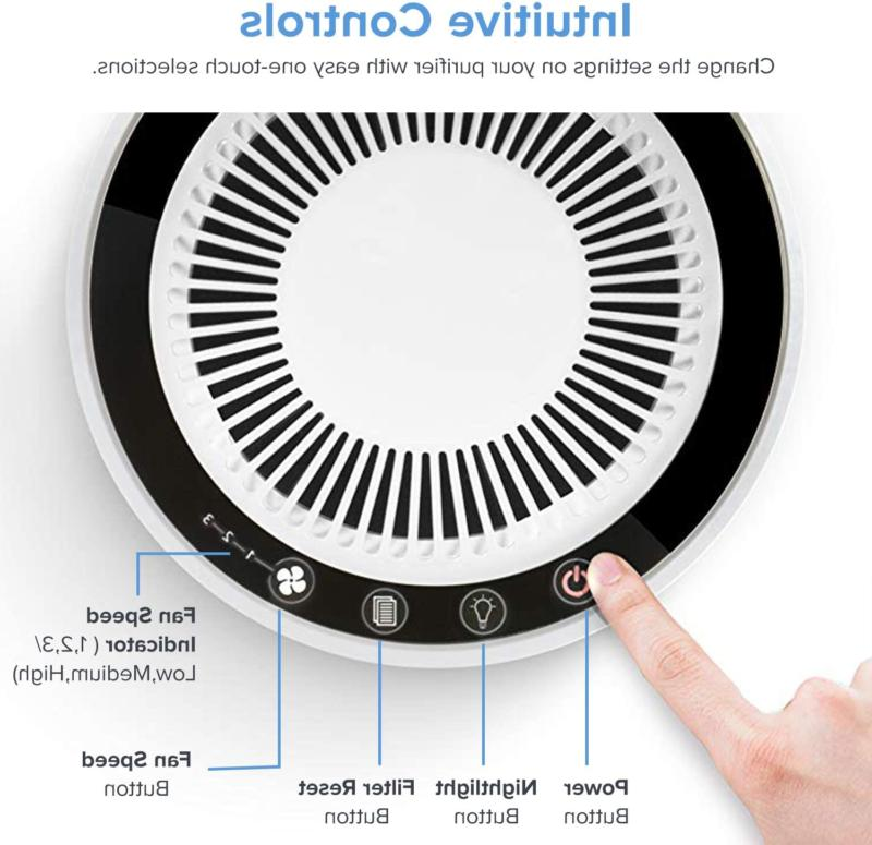 LEVOIT H13 True Filter Air Allergies and Smokers,