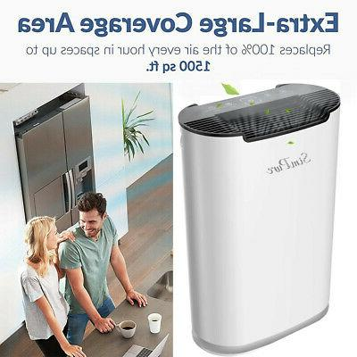 H13 HEPA Air Purifiers Large Air for Pet Smoker