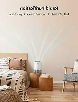 HEPA Air Purifier for Home, Pets Hair, Desktop Clean