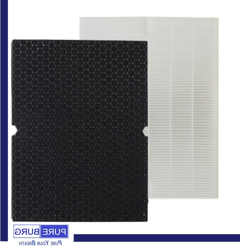 PUREBURG HEPA Filter + Activated Carbon for Winix 5500-2 Purifiers.