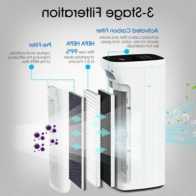 Air Purifiers home Allergies True filter LED Light