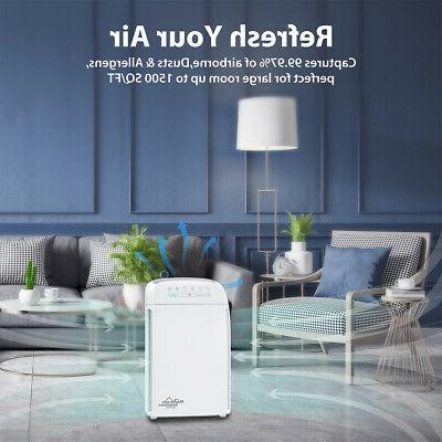Purifiers Medical HEPA Air Cleaner Allergies 24dB