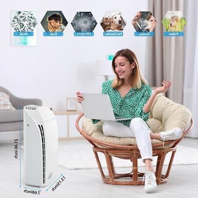 Home Room Air Purifiers Cleaner for Allergies 24dB