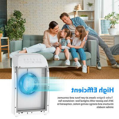 Home Purifiers Medical HEPA Air Cleaner for Allergies Smoke 24dB