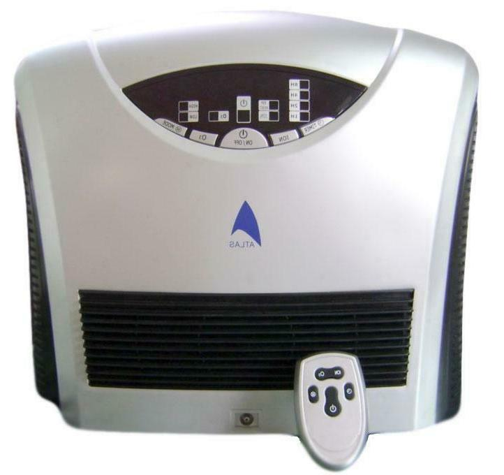 ozonator dual hepa and active carbon filter