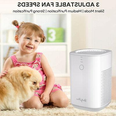 3-Stage HEPA Air Purifiers for Large Home Clean Allergies Pe