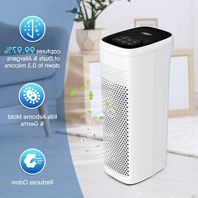 Air Purifiers for Large Home Allergies True H13 HEPA filter