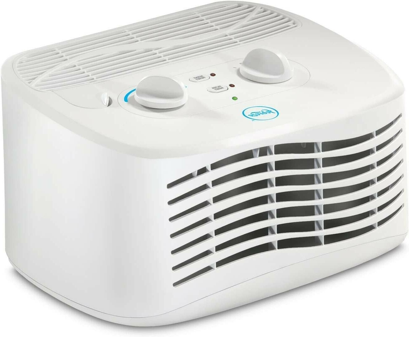 tabletop air purifier fht170w white clean filter
