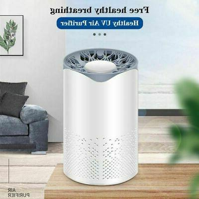 uvc air purifier hepa particle filter uv