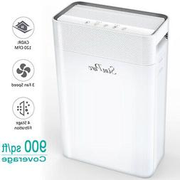 large room air purifier 4 stage h13
