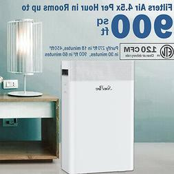 Large Room Air Purifier for Allergies Air Cleaner Medical Gr