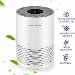 Large Room Air Purifier Home HEPA Air Cleaner Allergies Elim