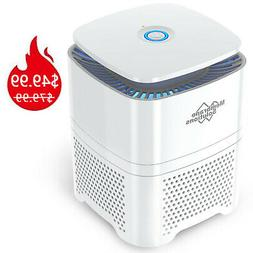 Large Room Air Purifier True HEPA Filter Odor Allergies Elim