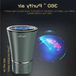 Mini Portable Desktop Car Air Purifier Cleaner w/ True HEPA