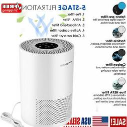 Portable Air Purifier For Home With HEPA Filter Room Ionizer