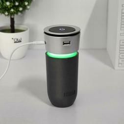 CAR Portable Car Ionizer Air Purifier with HEPA filter, colo