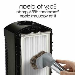 Quiet Air Purifier for Large Room with Permanent HEPA Filter
