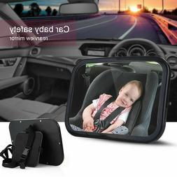 Large Wide Baby Child Car Safety Back Seat Mirror Rear View
