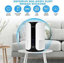 True HEPA Air Purifier for Home Up to 301ft², 360° Filter